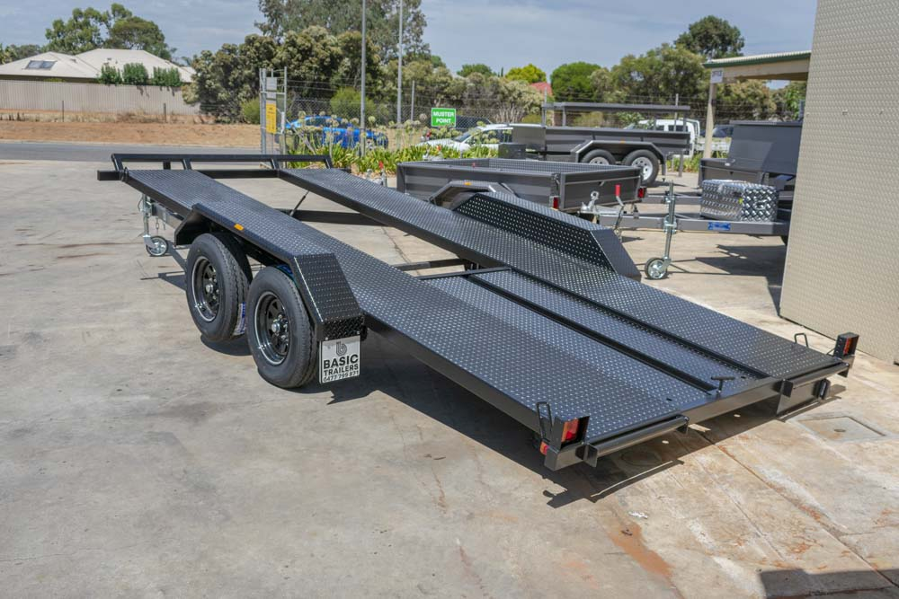 Trailer for Sale: Basic Trailers gas strut manual tilt car trailer a