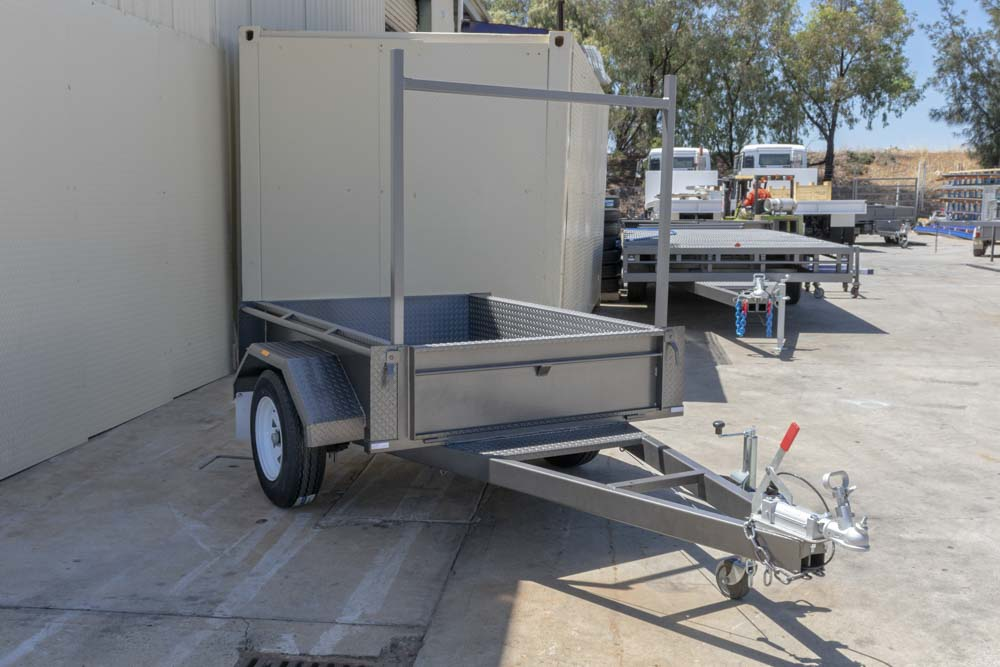 Trailer for Sale: Basic Trailers 6x4 Single Axle Trailer