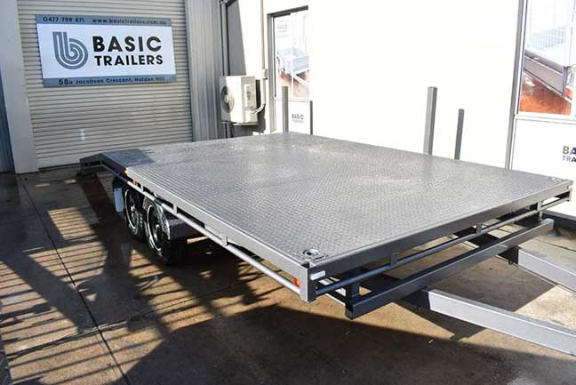 flat top trailers