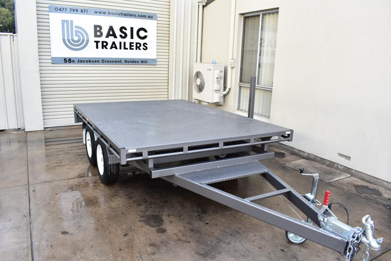 Trailers for Sale: FLAT-TOP-TRAILER-10x7