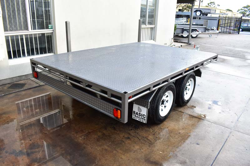 Trailers for Sale: FLAT-TOP-TRAILER-08x7