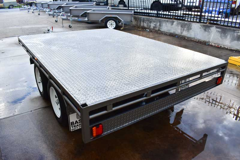 Trailer for Sale: FLAT-TOP-TRAILER-08x6