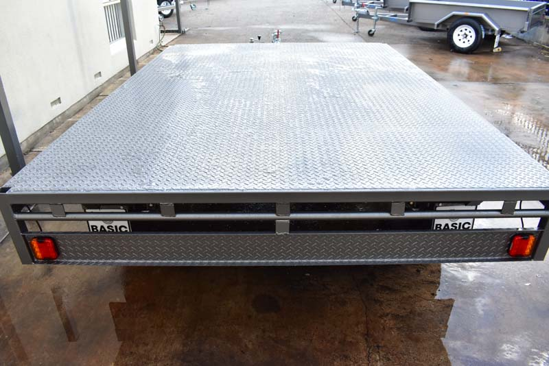 Trailer for Sale: FLAT-TOP-TRAILER-12x8