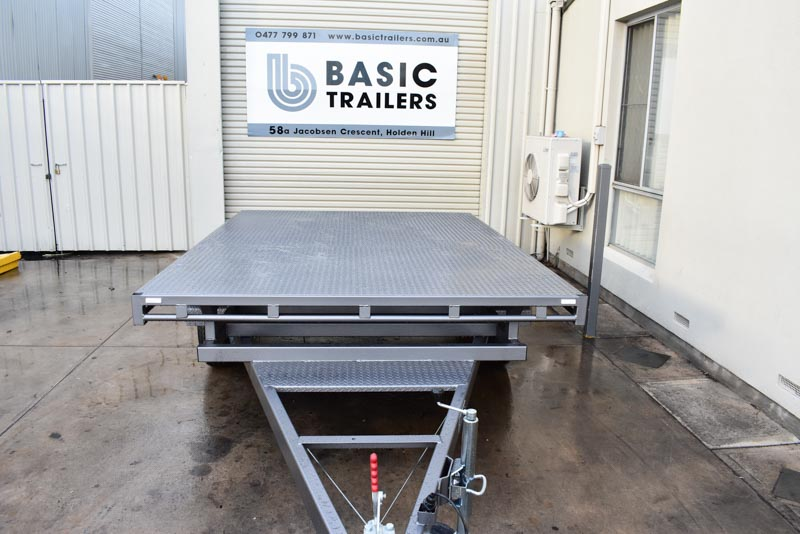 Trailers for Sale: FLAT-TOP-TRAILER-10x8