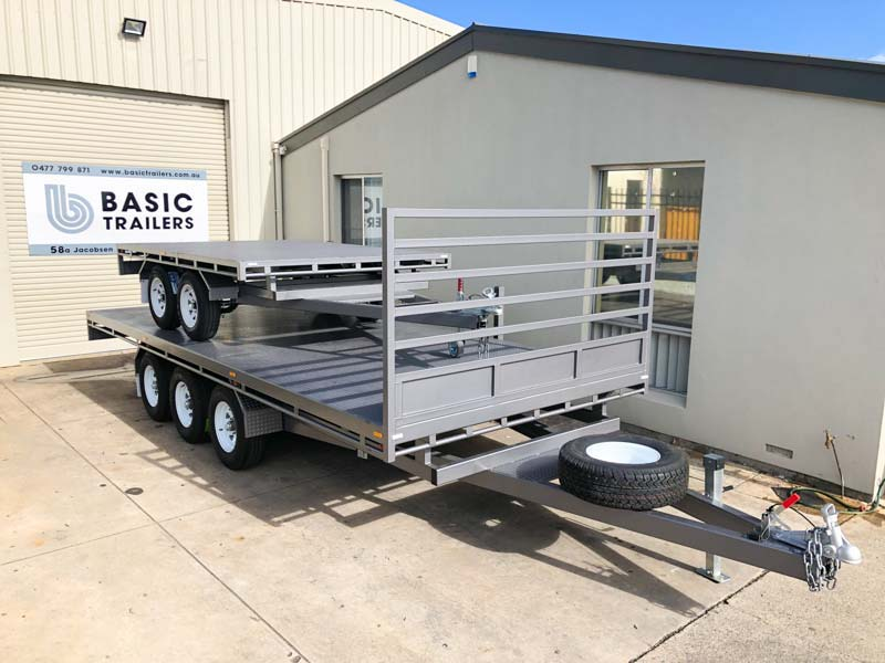 Trailer for Sale: FLAT-TOP-TRAILER-14x8