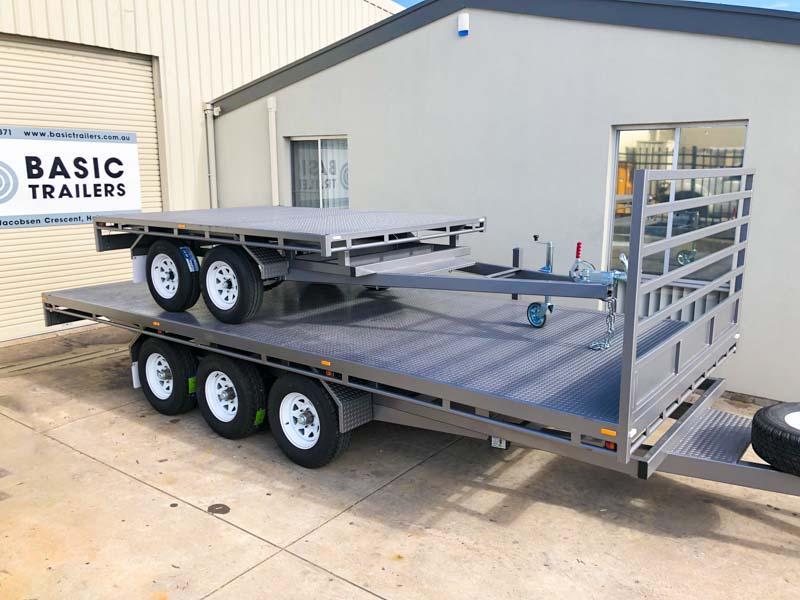 Trailer for Sale: FLAT-TOP-TRAILER-16x7