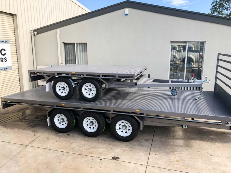 Trailer for Sale: FLAT-TOP-TRAILER-20X7