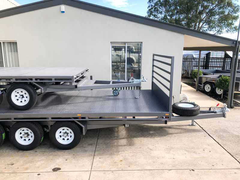 Trailer for Sale: FLAT-TOP-TRAILER-18x8
