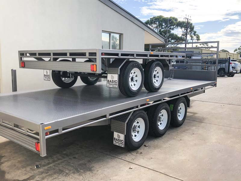 Trailer for Sale: FLAT-TOP-TRAILER-16x8